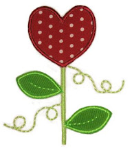 EB heart flower