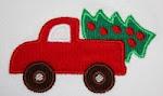 EB Truck w/ tree