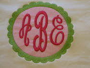 Scallop applique