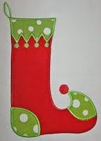 AC Christmas stocking