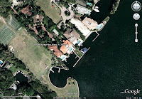 Alonzo Mourning's house - arial view