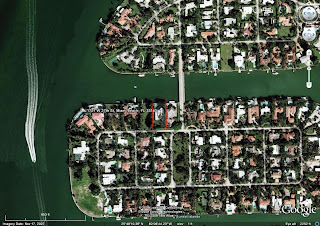 Miami Beach real estate homes on Sunset Island