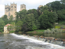 Durham Cathedral from the fulling mill