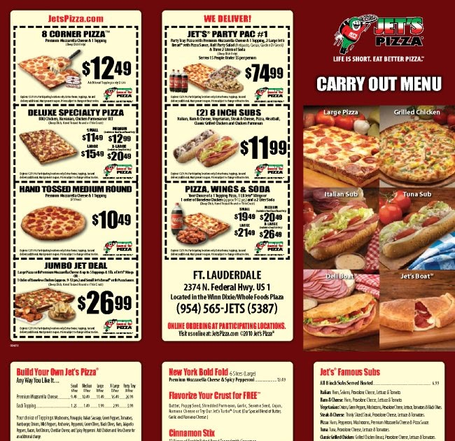 Jetspizza com coupons