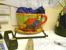 My desk at work