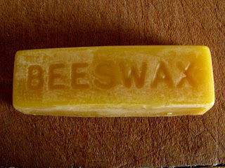 bar of beeswax