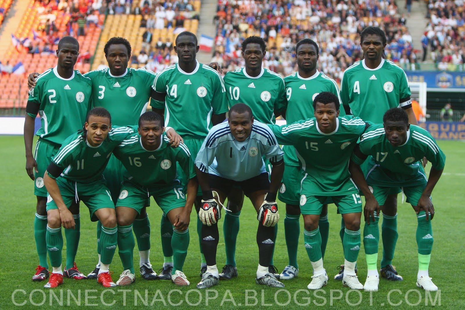 ba261c05e32fd Connect na Copa  SELEÇÃO DA NIGÉRIA ESTÁ SUSPENSA POR 2 ANOS