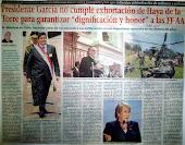 Presidente García no cumple exhortación de Haya de la Torre