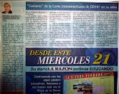 Caviares de la Corte Interamericana de DDHH