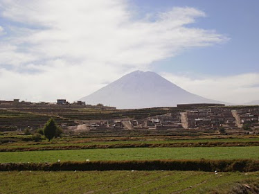 "El Volcán ""Misti"". Arequipa. Perú"