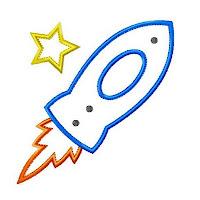 rocket ship | Crafts and Nonsense