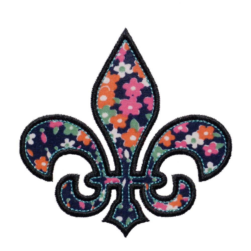 big dreams embroidery fleur de lis machine embroidery. Black Bedroom Furniture Sets. Home Design Ideas