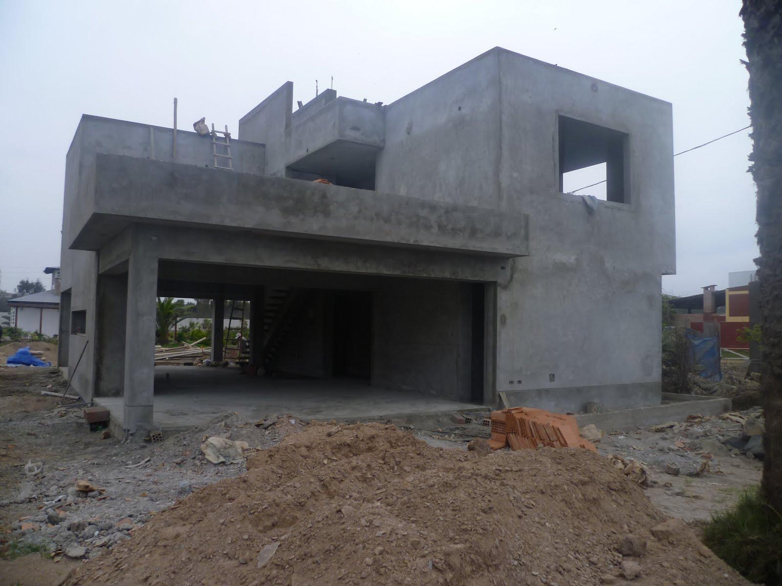 Casa de playa en club pachacamac for Diseno locales comerciales