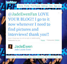 Jade Ewen Loves My Blog!