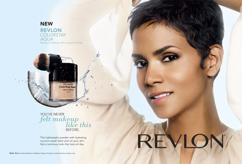 Halle Berry: Halle Berry video link to New Revlon Ad on Photoready ...