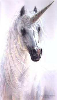 Unicornio protector de los animales