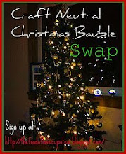 Craft Neutral Christmas Bauble Swap