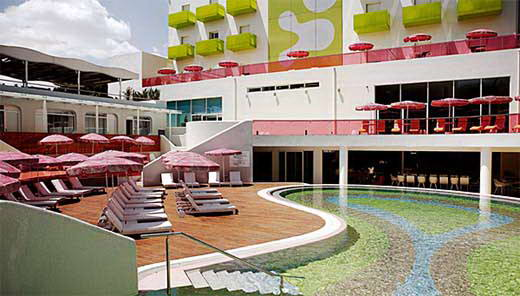 Colorful Design Of The Semiramis Hotel By Karim Rashid