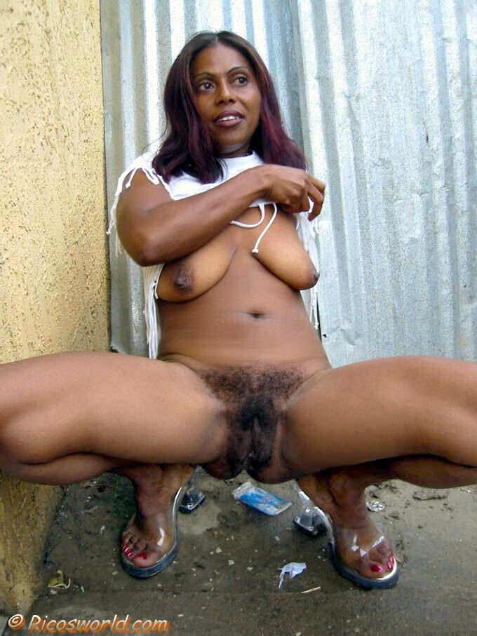caribbean hairy woman