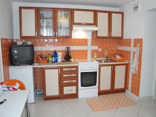 Piastrelle arancioni top piastrelle muro cucina elegante cm m