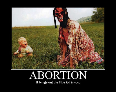 abortion is an evil 'the killing of babies, the dissolution of the traditional family' are 'pretty consistent'  with lucifer's plan for the world, he said this morning.