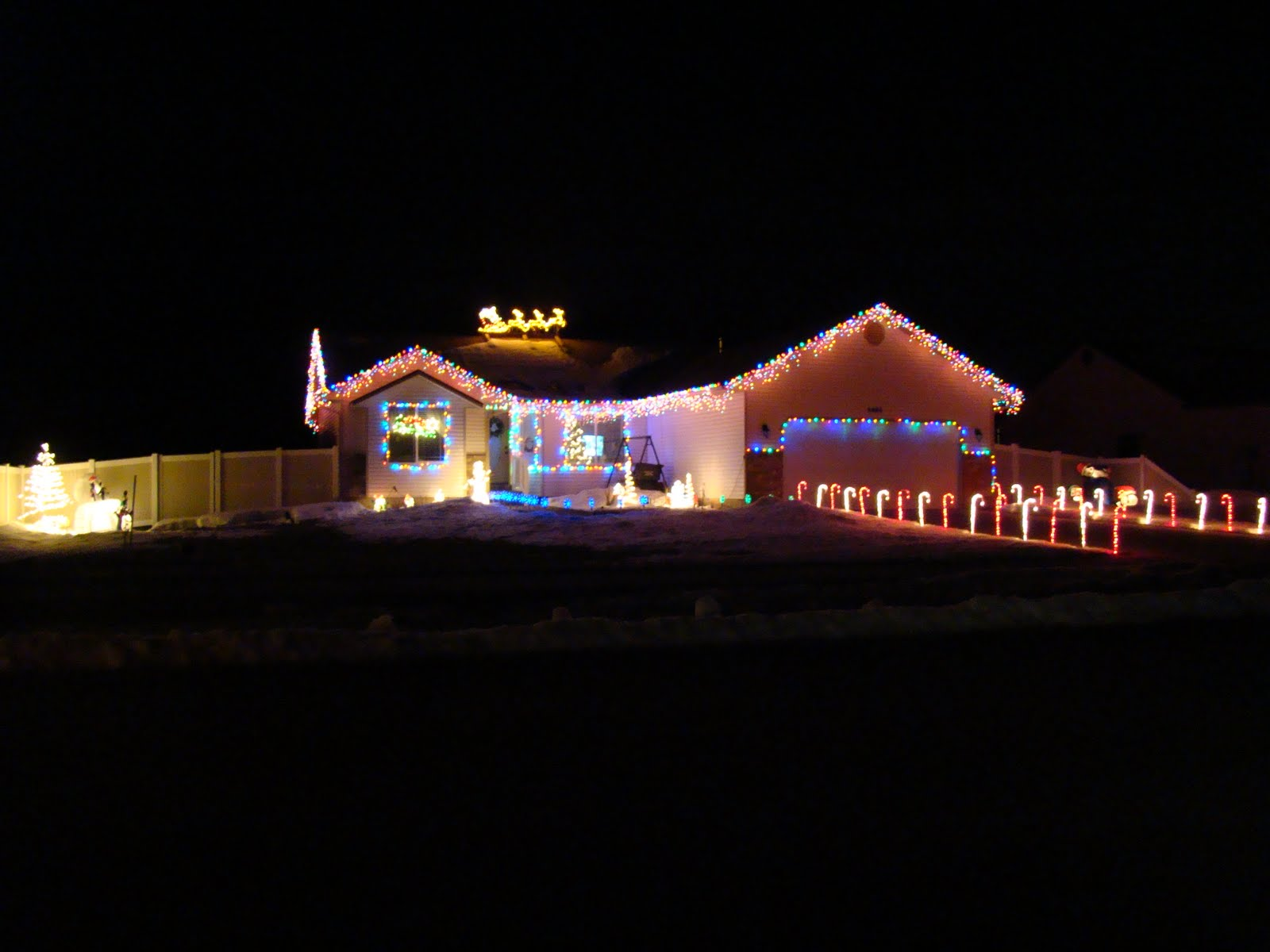 Delightful When My Husband And I Decided To Go Look At Christmas Lights Her First  Thought Of Candy Cane Lane, Which Is Hartert Dr.  Apparently They Are  Supposed To Put ...