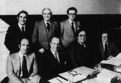 """""""La Constitución Española de 1978, última ley fundamental del franquismo"""" - publicado en el blog Cuestionatelotodo por Jose Luis Forneo  - 6 de diciembre de 2012 - Interesante Padres+de+la+Constitucion"""