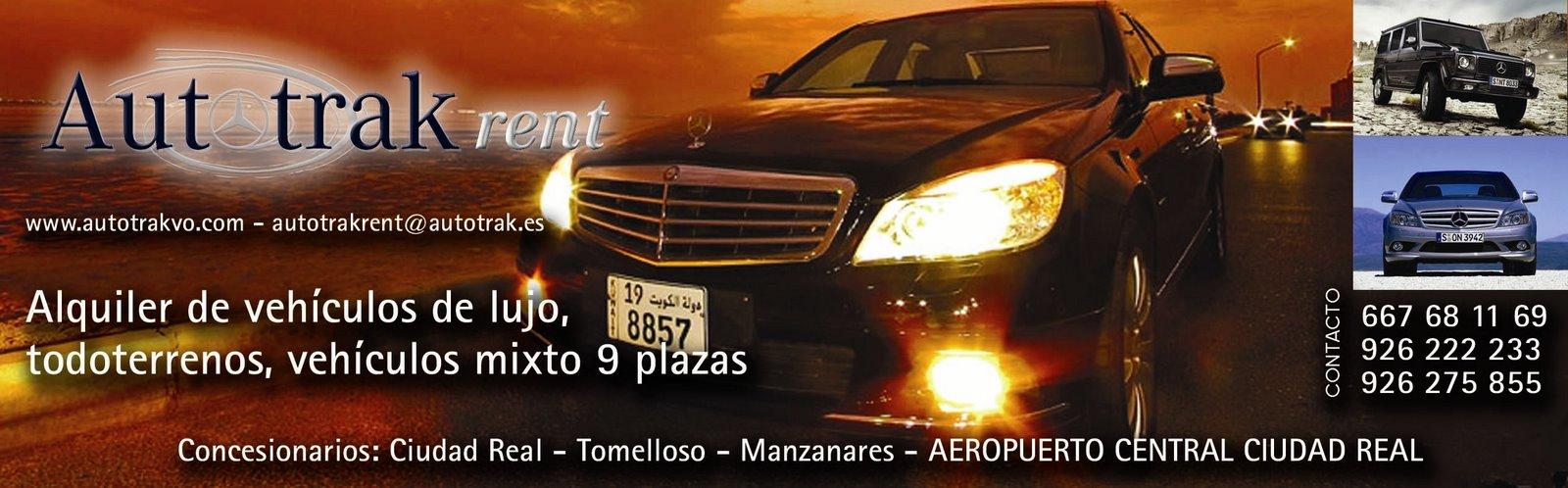 Weblog Autotrak rent  Alquiler de Coches,Vehiculos Lujo,4x4 Ciudad Real y Aeropuerto