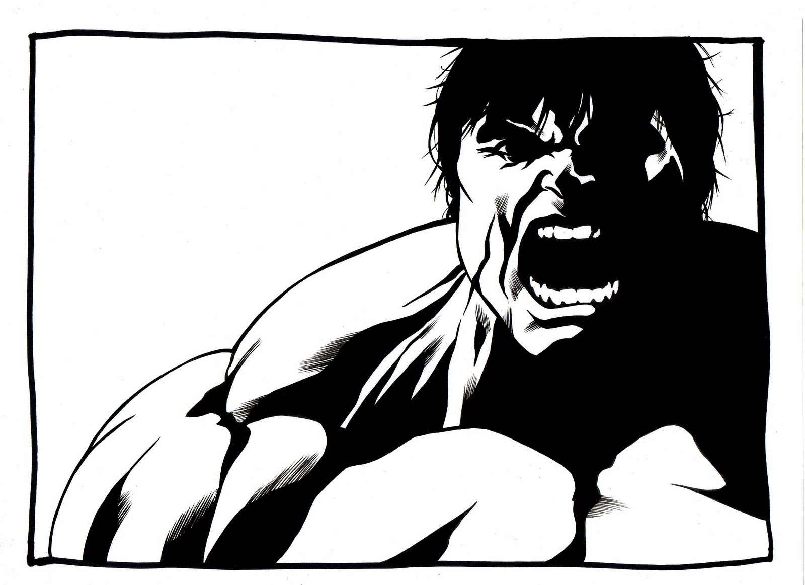 The Incredible Hulk Coloring Pages #5