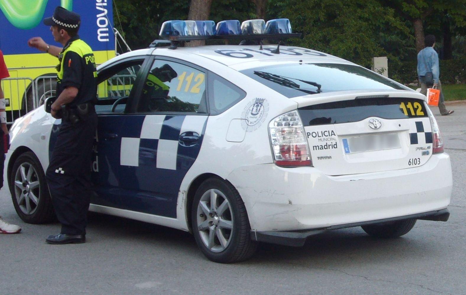 Prius como coche de policía municipal