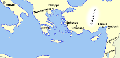 Paul Of Tarsus And Sosthenes | RM.