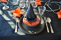 Halloween med 3-rätters