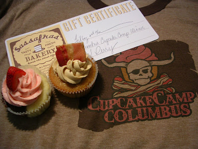 Cupcakes and Award