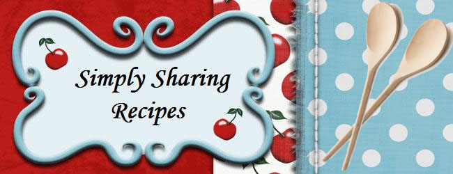 Simply Sharing Recipes