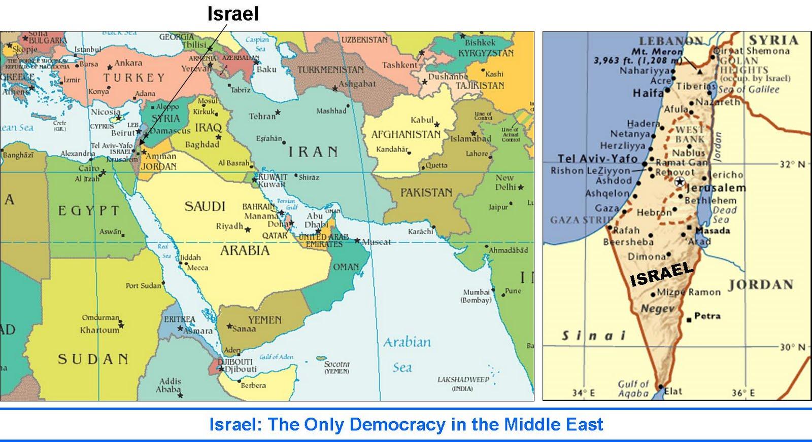 100 Israel World Map Israel In Maps Motti Saar Israeli Tour Guide Maps