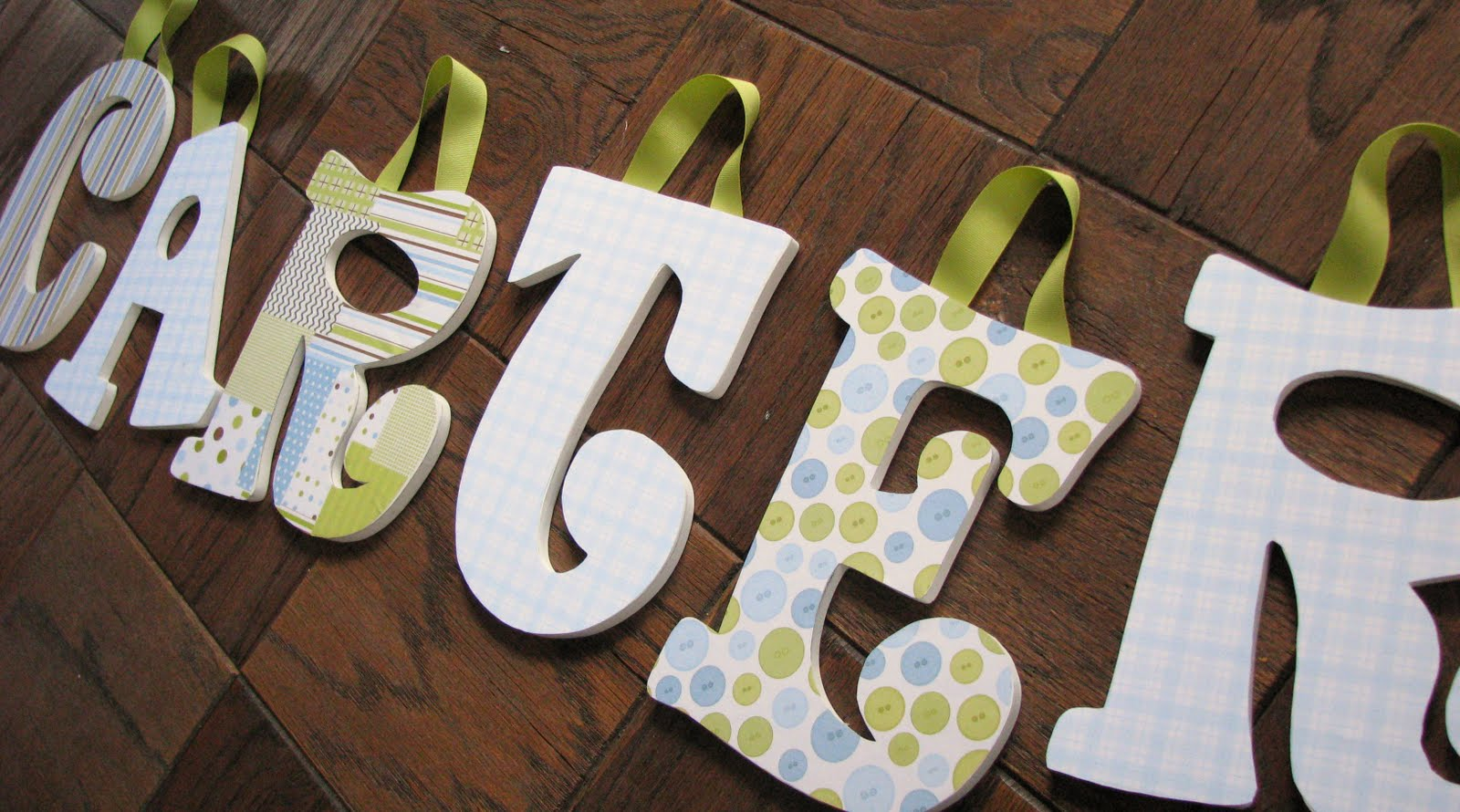 Ooh Wee Designs Wooden Letters