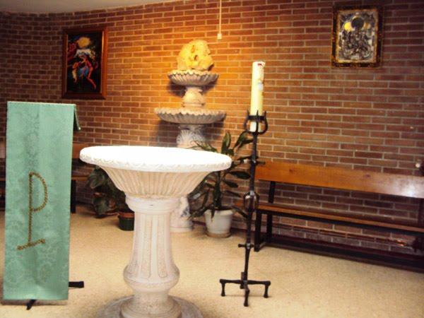 CAPILLA BAUTISMAL: DONDE RECIBIMOS LOS CRISTIANOS EL PRIMER SACRAMENTO