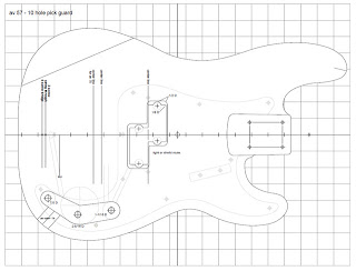 Fazendoinstrumentos blogspot on fender stratocaster blueprint