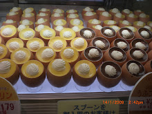 Custard Desserts in Tokyo Served in Egg Shells