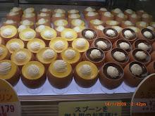 Custard Desserts in Tokyo Served in Egg Shells