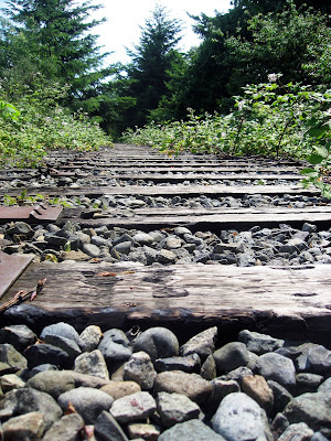 Vancouver BC abandoned train tracks