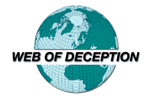 THE WEB OF DECEPTION