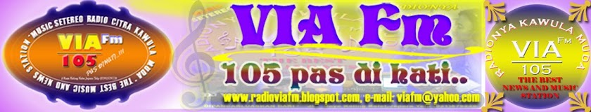 RADIO VIA fm 105 Pas dihati!!