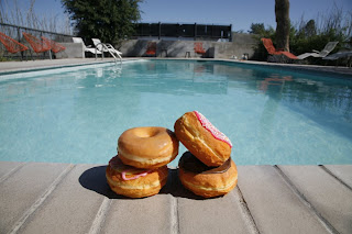 In Search Of The Center Poolside Donuts Sugar And Splash