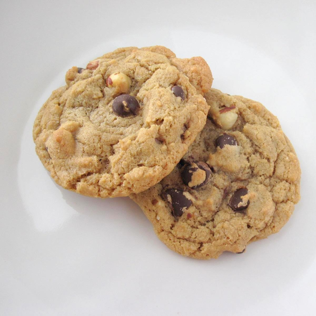 Cooking Stuff: Hazelnut Chocolate Chip Cookies