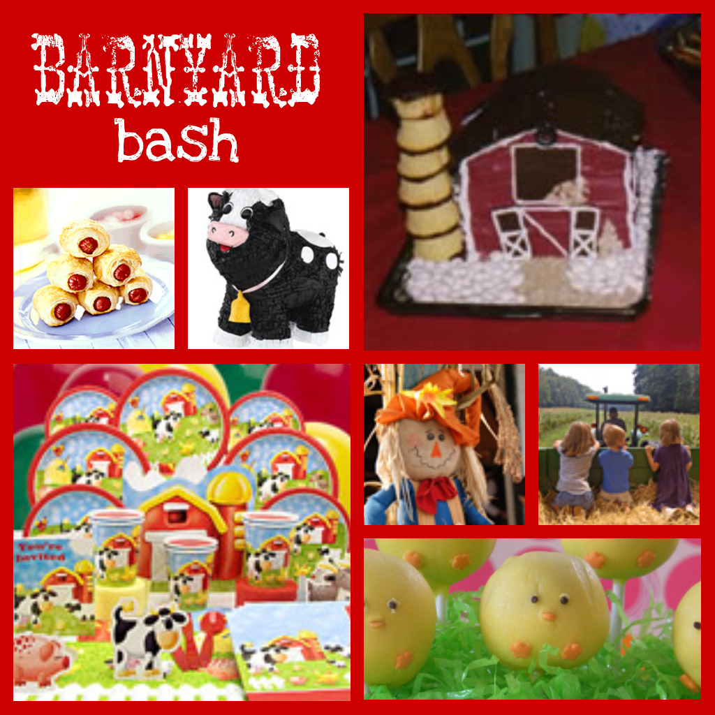 Birthday Party Blog Barnyard Bash