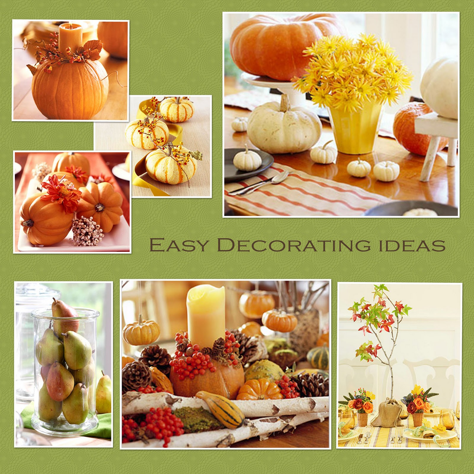 Decoration ideas for thanksgiving party - Decoration Ideas