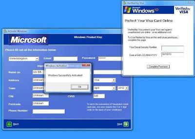 trucos para la activacion de windows:
