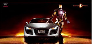 audi, r8, iron man, jean julien guyot, ipub, blog, pub, infopub.blogspot.com, ipub.ca.cx