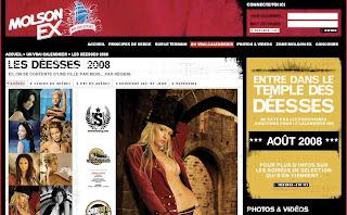 molson, ex, nudity, girls, calendar, jean julien guyot, blog, pub, infopub.blogspot.com, ipub.ca.cx